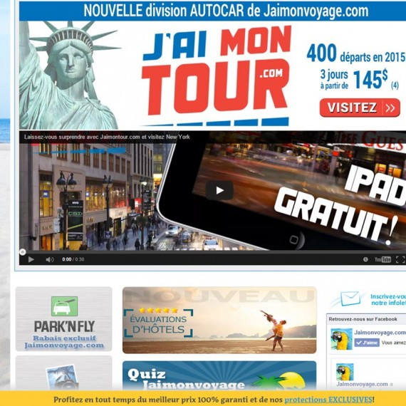 Jaimonvoyage.com - Marketing Web de Média Fou