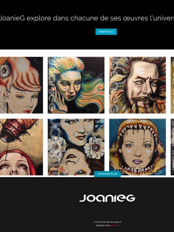 Joanieg.ca une réalisation web de Média Fou